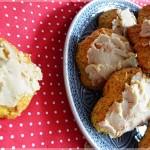 Ciasteczka dyniowe z karmelowym lukrem