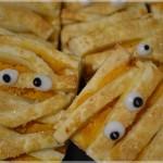 Ciastka mumie na Halloween