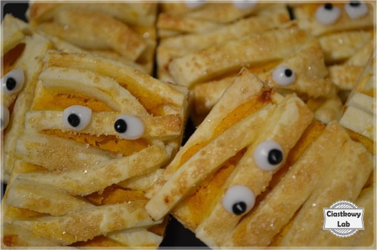 Ciastka mumie idealne na halloween