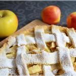 Tarta z jabłkami na kruchym cieście /z jabłkami/