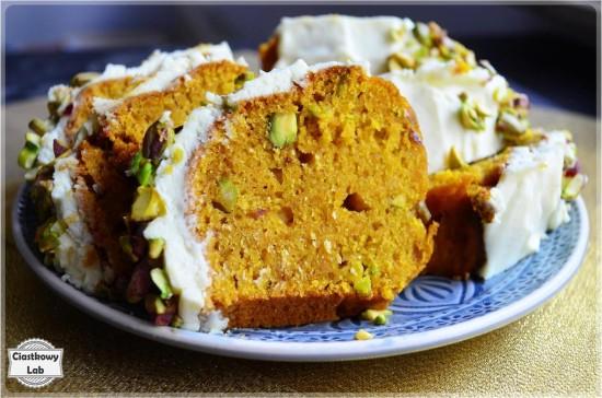 Ciasto marchewkowo - dyniowe