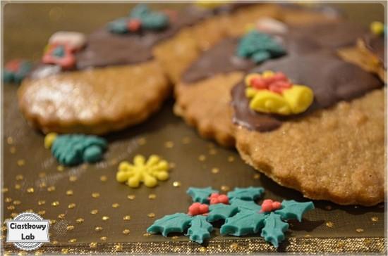 Dekoracje na świąteczne ciasteczka