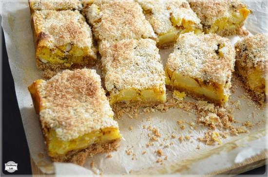 Ciasto dyniowe z jabłkami i kokosem